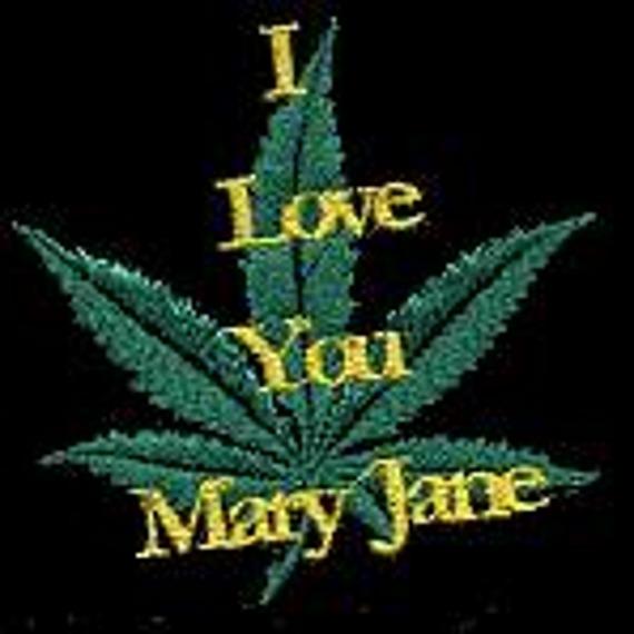 naszywka I LOVE YOU MARY JANE