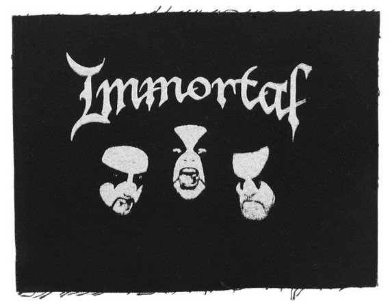 naszywka IMMORTAL - FACES