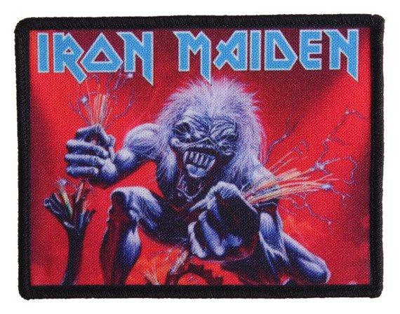 naszywka IRON MAIDEN -  A REAL LIVE DEAD ONE