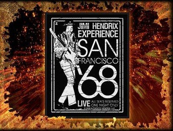 naszywka JIMI HENDRIX - SAN FRANCISCO