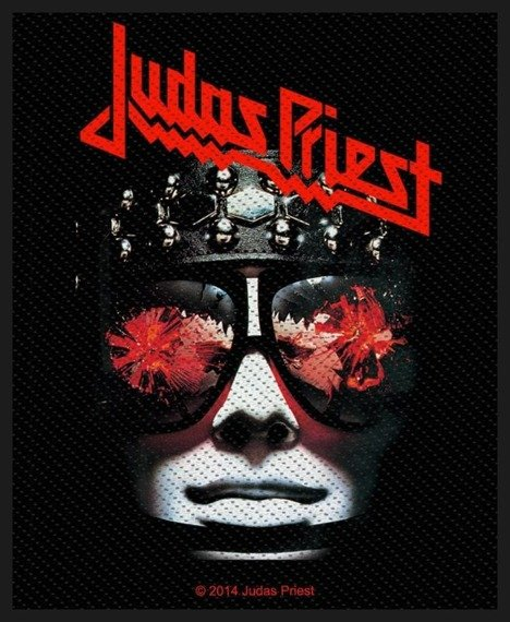 naszywka JUDAS PRIEST - HELL BENT FOR LEATHER