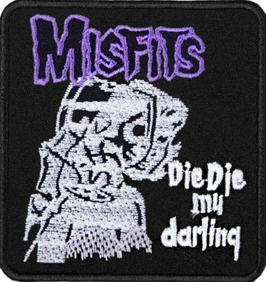 naszywka MISFITS - DIE DIE MY DARLING