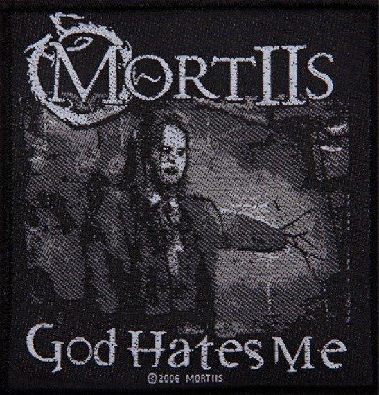 naszywka MORTIIS - GOD HATES ME