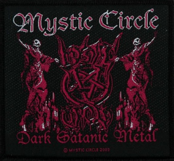 naszywka MYSTIC CIRCLE - DARK SATANIC METAL