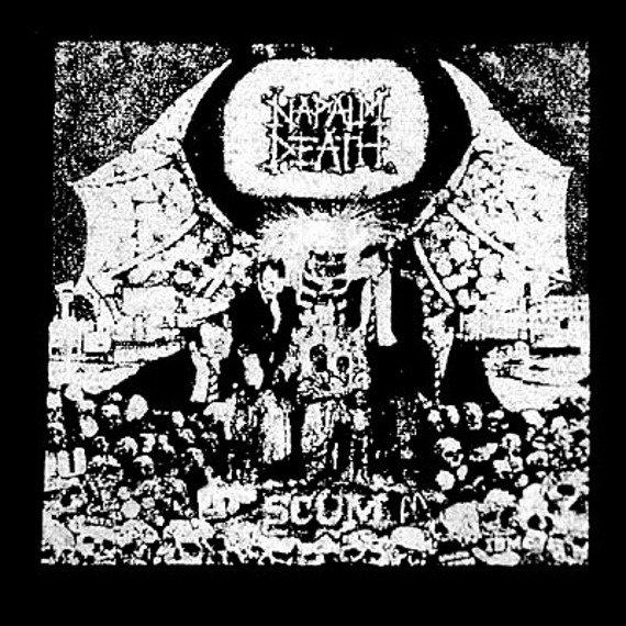 naszywka NAPALM DEATH - SCUM