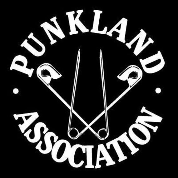 naszywka PUNKLAND ASSOCIATION