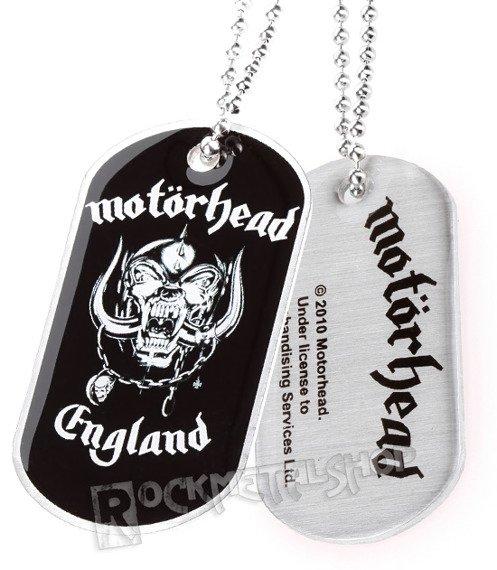 nieśmiertelnik MOTORHEAD - ENGLAND