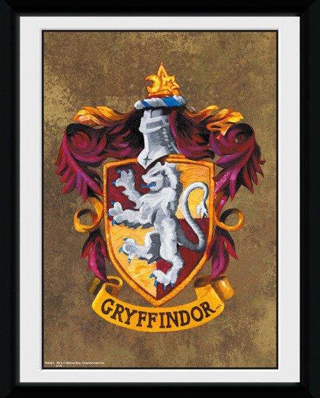 obraz w ramce HARRY POTTER - GRYFFINDOR