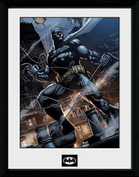 obraz w ramie BATMAN COMIC - ROPE