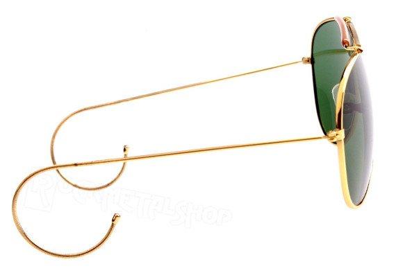 okulary PILOTKI STURM MIL-TEC zielone