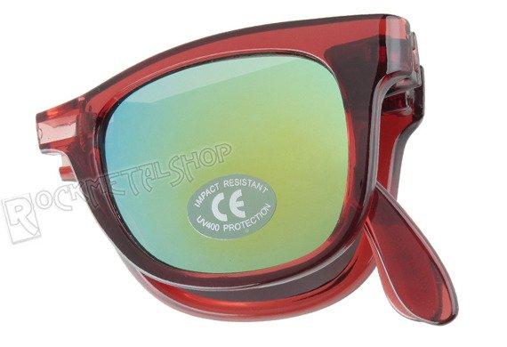 okulary VANS - FOLDABLE SPICOLI TRANSPARENT