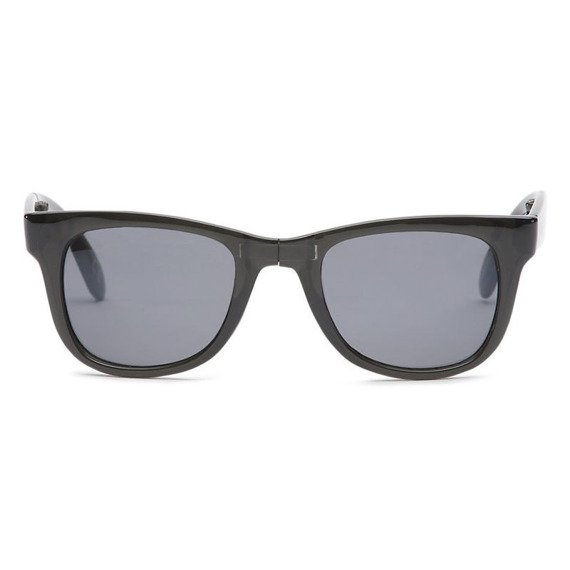 okulary VANS - FOLDABLE SPICOLI TRANSPARENT BLACK