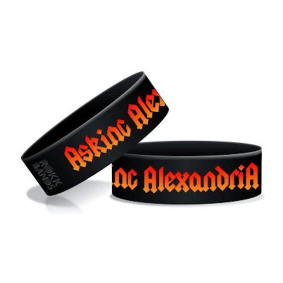 opaska ASKING ALEXANDRIA - WRIST RIDE  silikonowa
