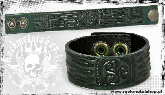 opaska napa 24mm TRIBAL green