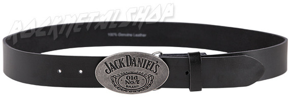 pas JACK DANIELS - BLACK BELT OVAL BUCKLE