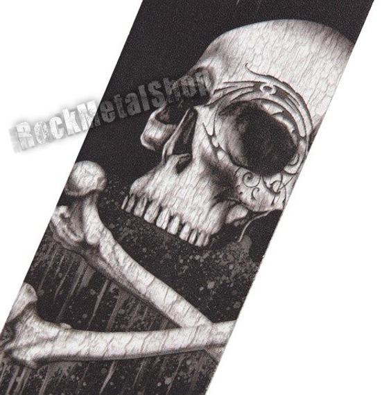pas do gitary PLANET WAVES - ALCHEMY GOTHIC LEATHER: BLACKBLOODS SKULL (25LAL01)