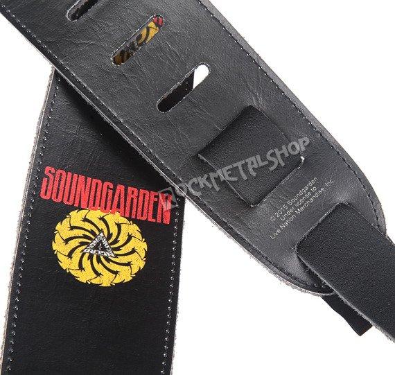 pas do gitary SOUNDGARDEN - BADMOTORFINGER skórzany, 63mm