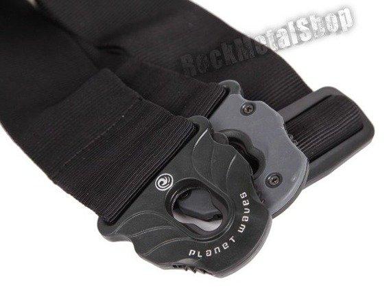 pas gitarowy PLANET WAVES LOCK BLACK (50PLA05) straplock