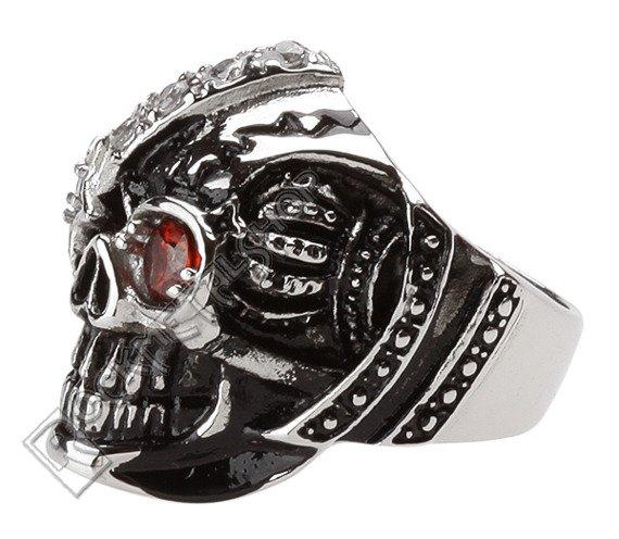 pierścień MACHINE SKULL 2