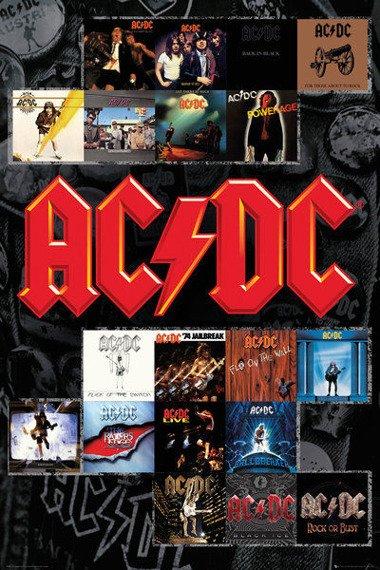 plakat AC/DC - COVERS