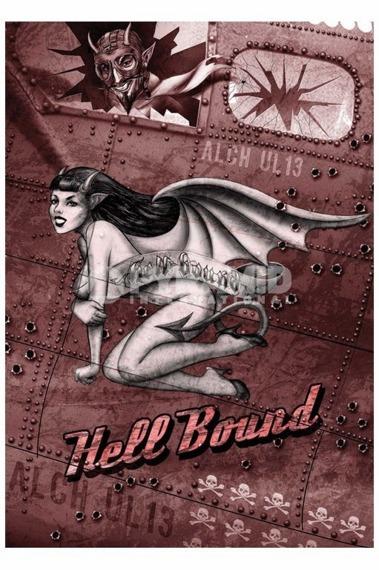 plakat ALCHEMY - HELL BOUND