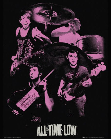 plakat ALL TIME LOW - PINK