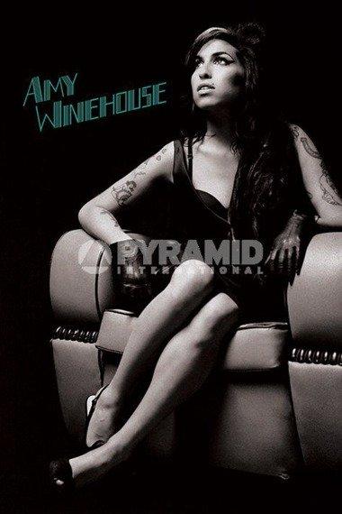plakat AMY WINEHOUSE - CHAIR