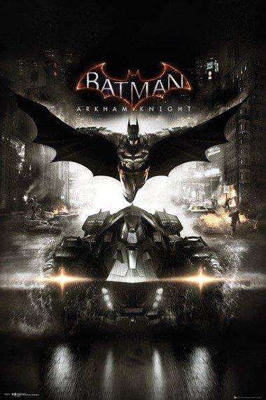 plakat BATMAN: ARKHAM KNIGHT - COVER