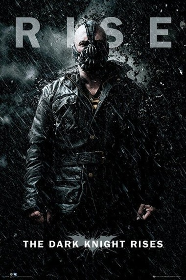 plakat BATMAN THE DARK KNIGHT RISES - BANE RISE