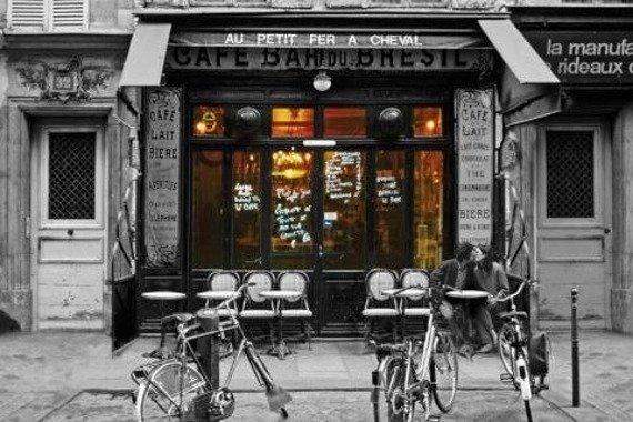 plakat CAFE BAR DU-BRESIL