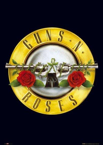 plakat GUNS N ROSES - LOGO
