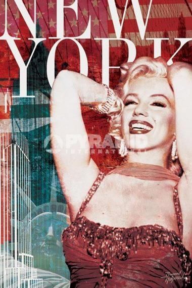 plakat MARILYN MONROE (NEW YORK) - BERNARD OF HOLLYWOOD