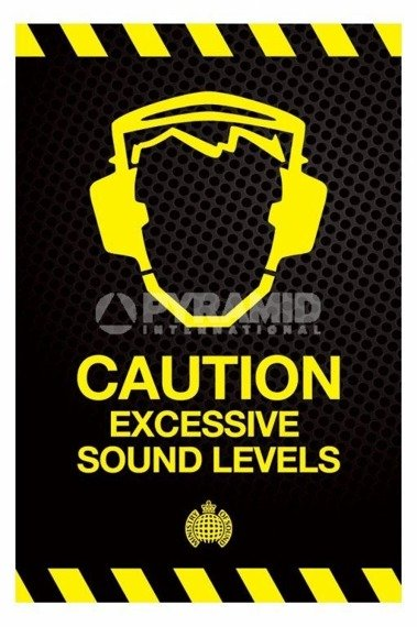 plakat MINISTRY OF SOUND - CAUTION