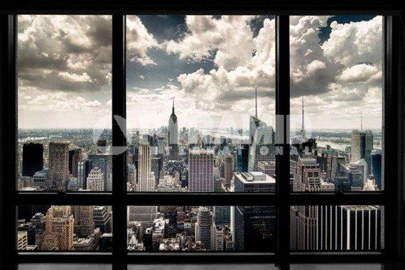 plakat NEW YORK WINDOW