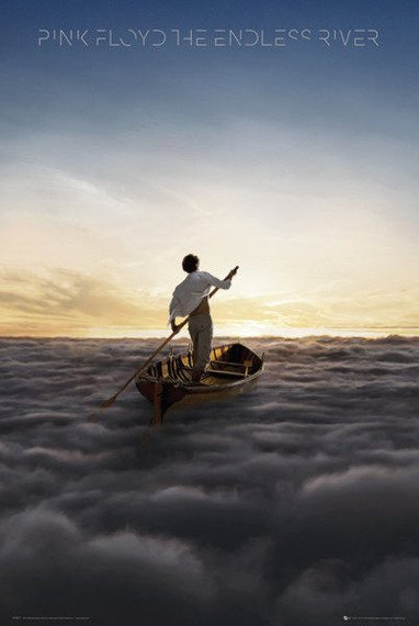 plakat PINK FLOYD - THE ENDLESS RIVER