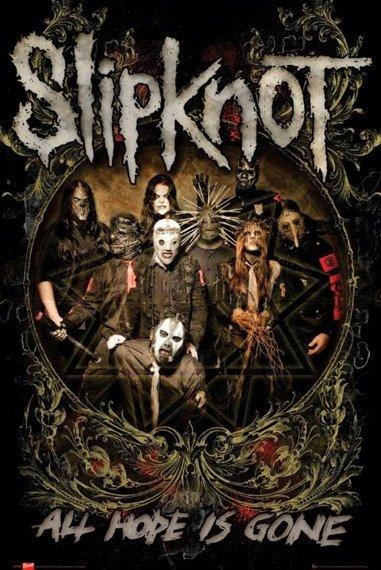 plakat SLIPKNOT - IS GONE