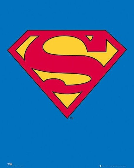 plakat SUPERMAN