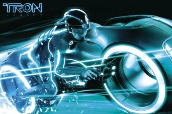 plakat TRON -  BIKE