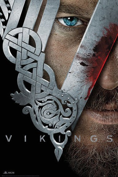 plakat VIKINGS - KEY ART