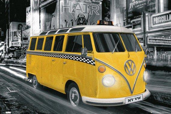 plakat VW  CAMPER - NY TAXI