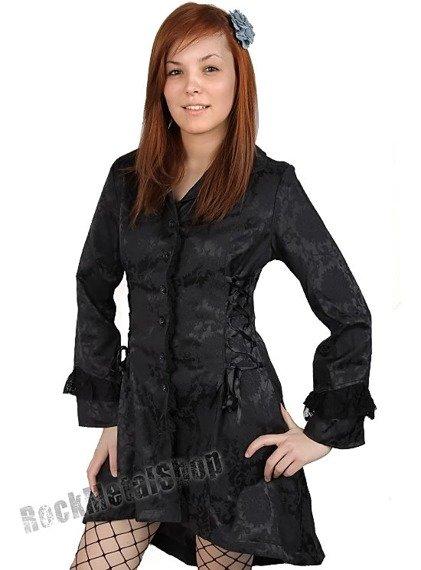 płaszcz damski LIVING DEAD SOULS (BLACK)