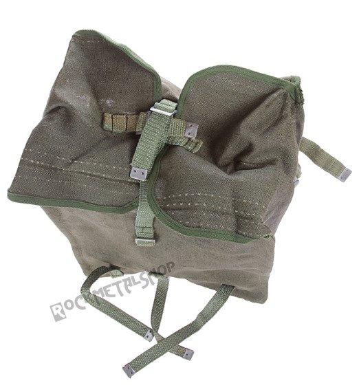 plecak KOSTKA WOJSKOWY (Oryginał) z kratką  i szerokimi szelkami (NOWY)