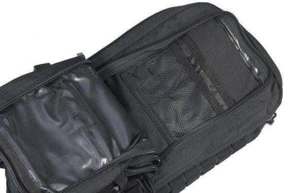 plecak taktyczny US ASSAULT PACK LG SCHWARZ, 36 litrów