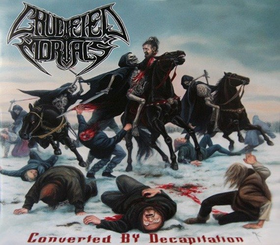 płyta CD: CRUCIFIED MORTALS - CONVERTED BY DECAPITATION