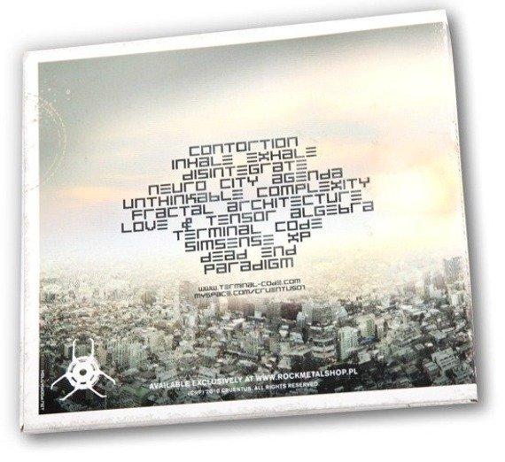 płyta CD: CRUENTUS - TERMINAL CODE