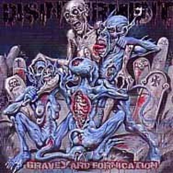 płyta CD: DISINTERMENT (US) - GRAVEYARD FORNICATION