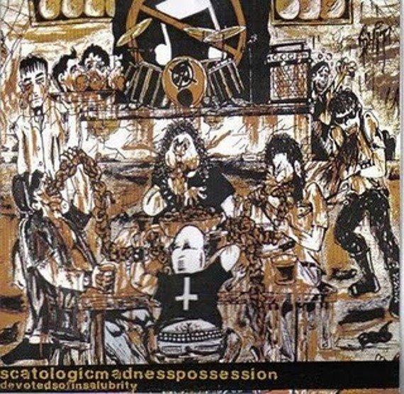 płyta CD: SCATOLOGIC MADNESS POSSESSION - DEVOTES OF INSALUBRITY