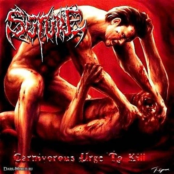 płyta CD: SUTURE - CARNIVOROUS URGE TO KILL