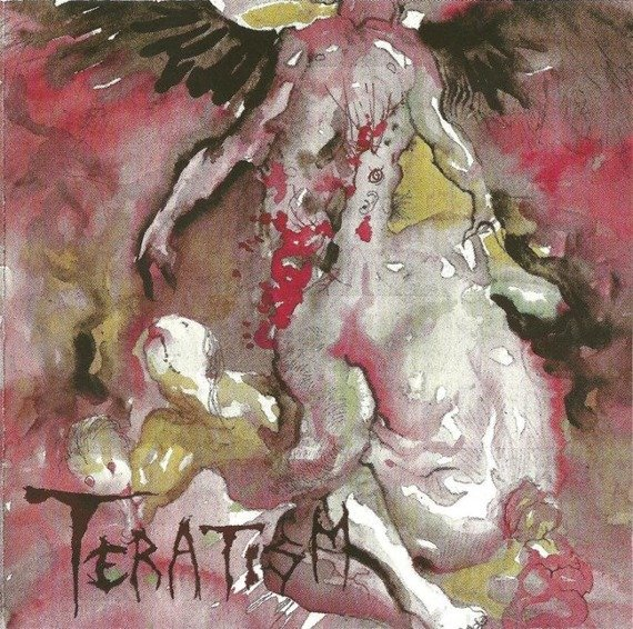 płyta CD: TERATISM - SERVICE FOR THE DAMNED