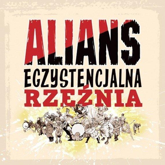 płyta winylowa ALIANS - EGZYSTENCJALNA RZEŹNIA (LP) żółty winyl
